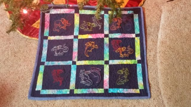 Baby Dragon Quilt