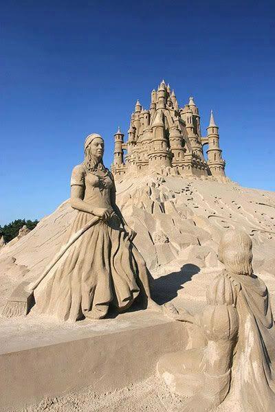Sand castles.....