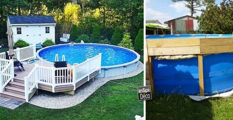 best 25 piscine hors sol ideas on pinterest petite piscine mini pool and garden pool. Black Bedroom Furniture Sets. Home Design Ideas