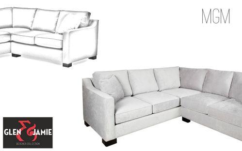 MGM sofa from Glen and Jamie's designer collection #sofa #GlenandJamie #furniture #design