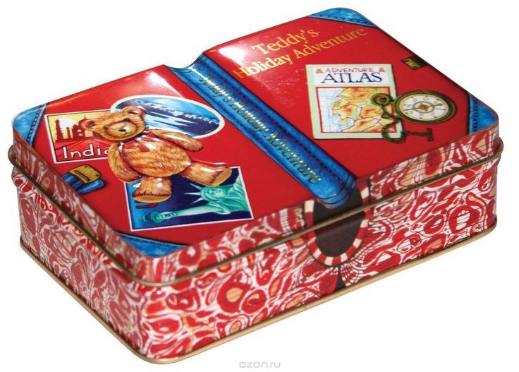 Купить Сладкая Сказка Мишкины путешествия шоколадные конфеты красная коробка, 110 г в интернет-магазине OZON.ru