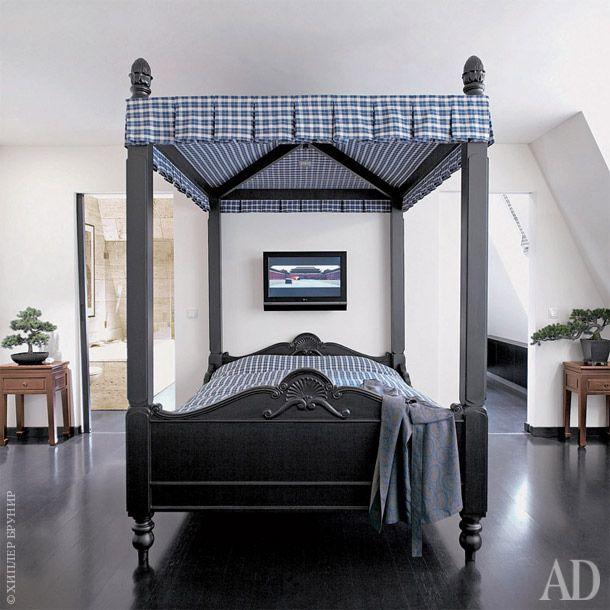 Черно-белая квартира в Мюнхене