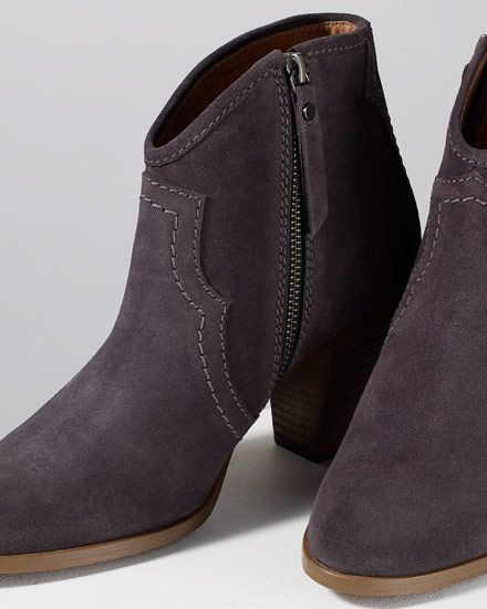 Cara Suede Side Zip Boot | Jigsaw