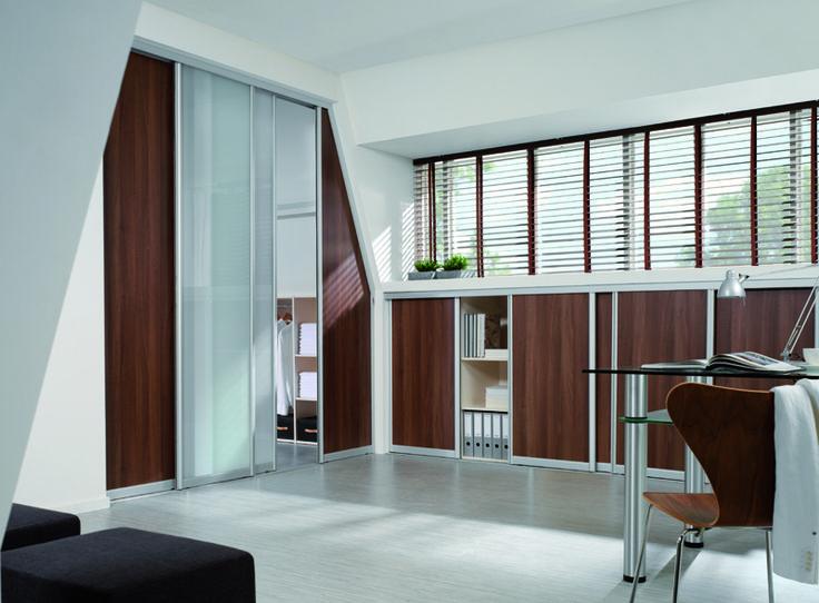 inloopkasten, schuifdeur kasten, werkkamer, slaapkamer Arti Design