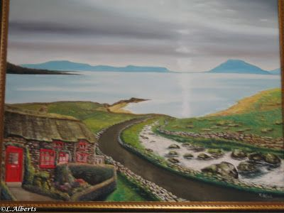 L. Alberts Painting Gallery: Irish Landscapes Oil Paintings 1