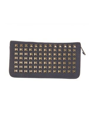 Barfota spring/summer 2014 Wallet with rivets midnight www.barfota.no