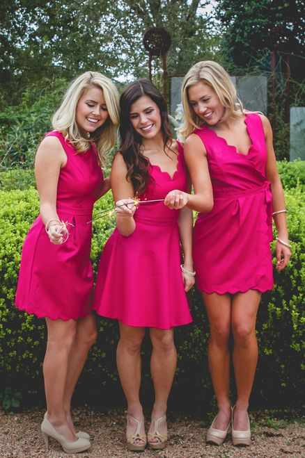 Revelry Emery Dress in pink from our Sweet Tea Collection. Mix and Match styles starting from $39 for group orders. We specialize in group orders - large or small - for sorority recruitment and bridesmaids. Order a sample box and try on at home! Find out more by visit www.shoprevelry.com!