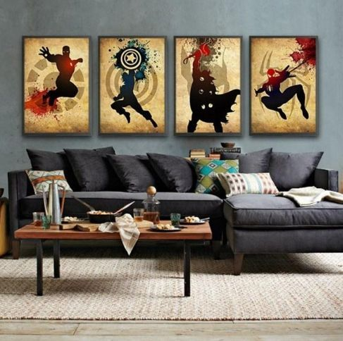 Best 25+ Comic themed room ideas on Pinterest
