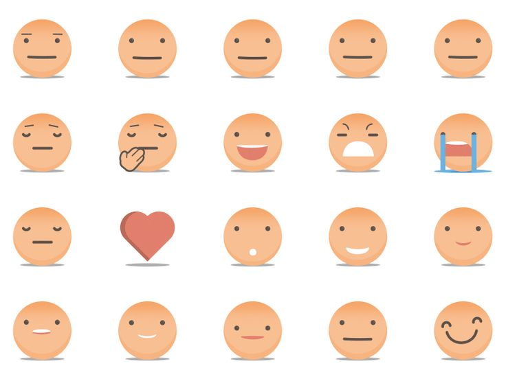 Animated emoji library [gif] by Untime