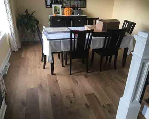 Charming Ventura Sandal Oak Dining Room Install In Saratoga Springs, NY