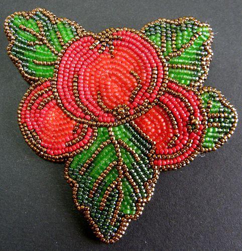 Райские яблочки | biser.info - всё о бисере и бисерном творчестве