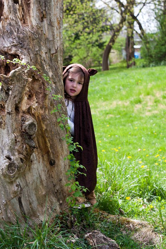 Handmade Cape Big Bad Wolf  Werewolf Costume Child Boy Girl on Etsy, $25.00
