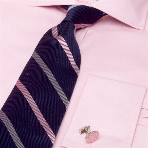 Розовая рубашка мужская какой галстук