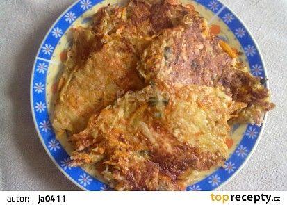 Křupavé mrkvové placičky recept - TopRecepty.cz