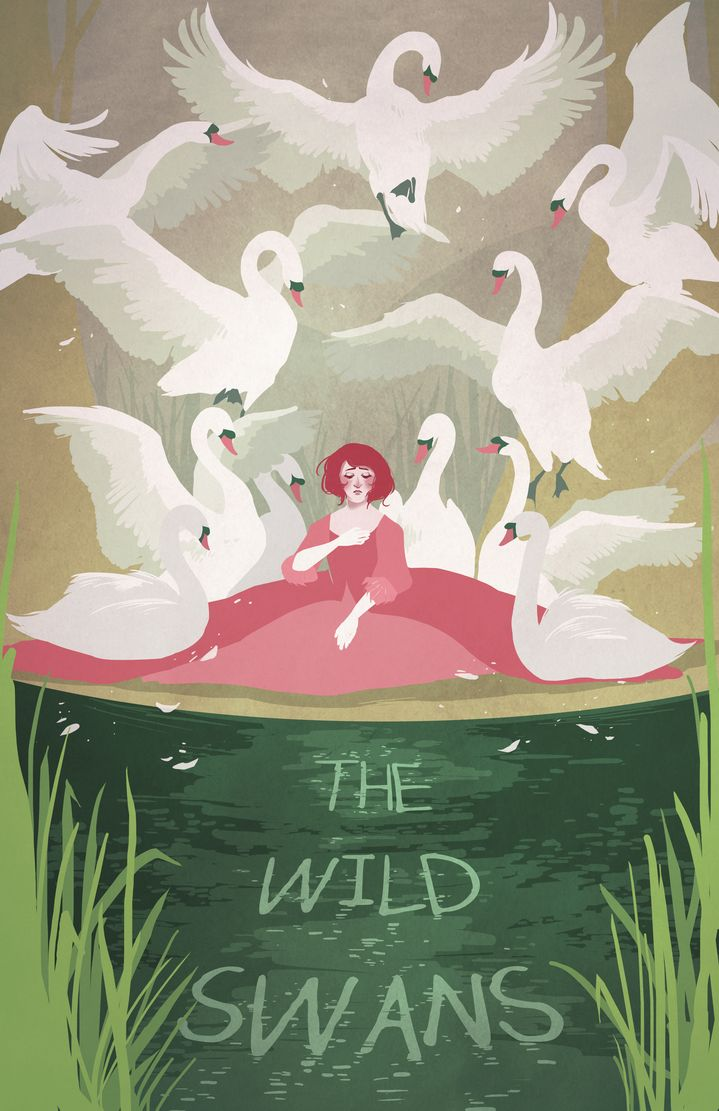 The Wild Swans by cocoaferret on deviantART