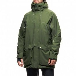 Spheric Parka jacket voor mannen - Leger groen. Buy #houdini #fashion at www.tomtoy.nl