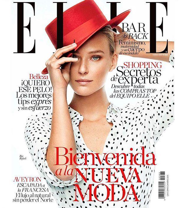 @barrefaeli is back! La modelo es nuestra 'cover girl' de #ELLEmarzo y celebramos con ella la nueva moda.  (Fotos: @xavigordo / Realización @inmajimenezelle. Ayudante de estilismo @danielagtzgzz. Maquillaje y peluquería @vickymarcosg para @diormakeup y @ghdspain) A la venta el 21 de febrero. #barrefaeli #elle #loveher #covergirl #ellelovesbar  via ELLE SPAIN MAGAZINE OFFICIAL INSTAGRAM - Fashion Campaigns  Haute Couture  Advertising  Editorial Photography  Magazine Cover Designs  Supermodels…