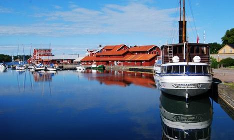 Motala harbour