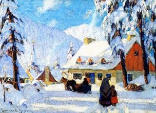 124 Best Images About Clarence Gagnon On Pinterest Oil
