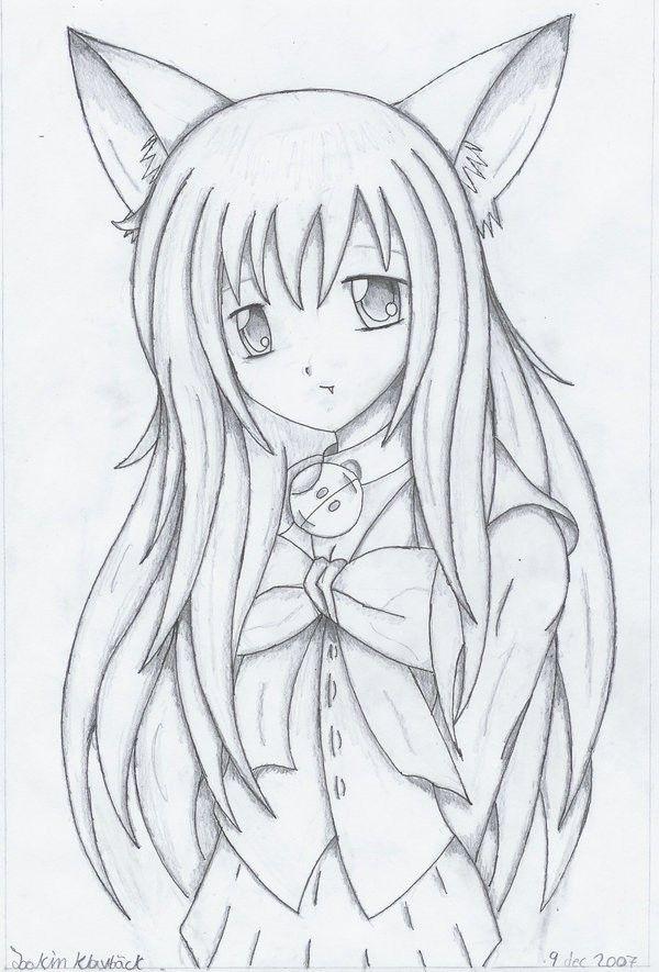 Kawaii Anime Keychains Archives Anime Cat Girl Drawing Cute Drawings Cat Girl Girl Drawing