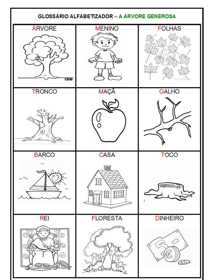 Sequência didática com o livro A árvore generosa - Atividades para alfabetização - ESPAÇO EDUCAR