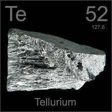 Telurio Elemento quimico - 52 Te