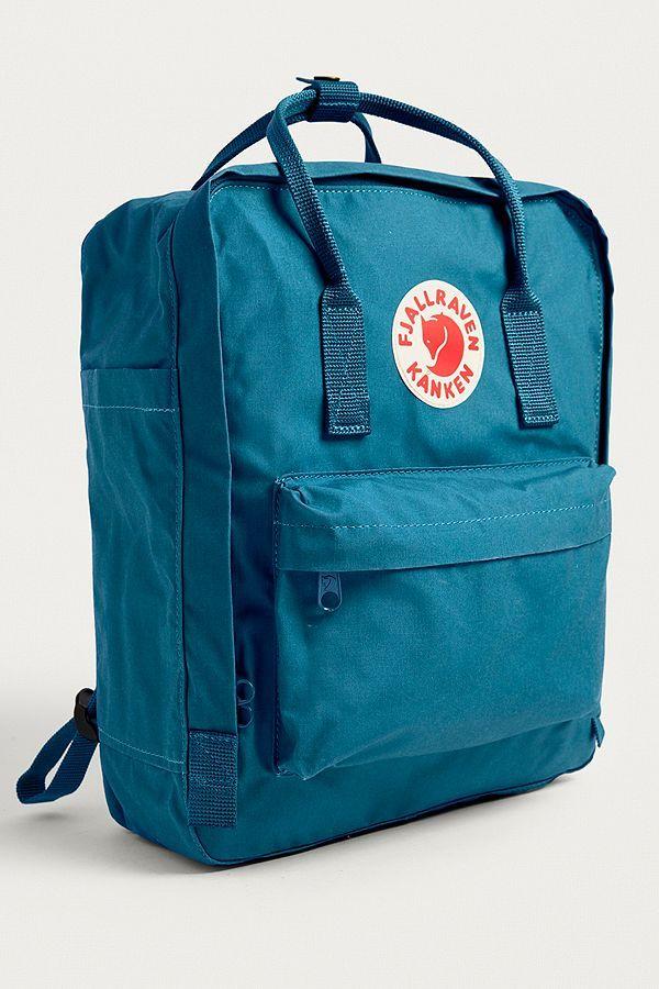 e8e5731909 Slide View  4  Fjallraven Kanken Lake Blue Backpack
