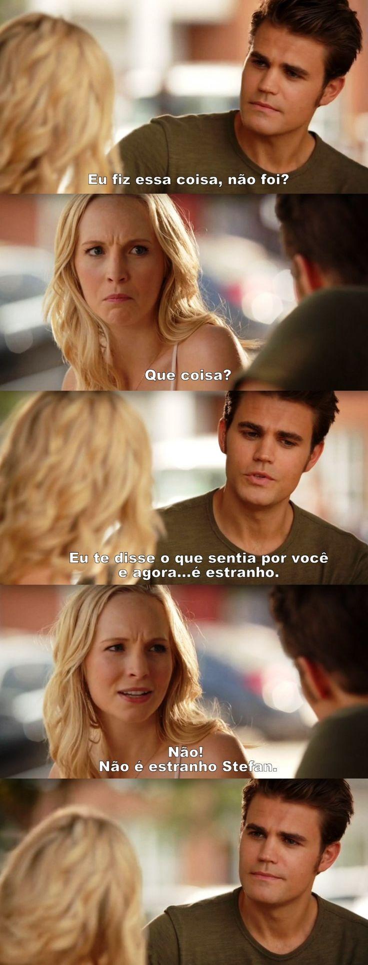 Diários de um vampiro 7X01 - Stefan & Caroline