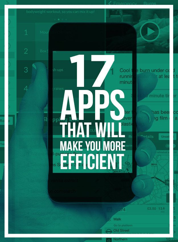 17 Apps That Will Make You More Efficient Find out more about JAMSO the pinner! #goalsetting for people and business results. http://www.jamsovaluesmarter.com