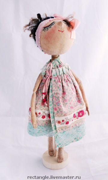 """Muñecas hechas a mano de colección.  Masters Feria - hecho a mano """"Marinka"""" ___ muñeca tekstilnaya.  Hecho a mano."""
