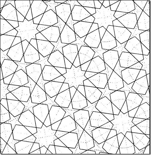 how to draw islamic geometric patterns - Google Search