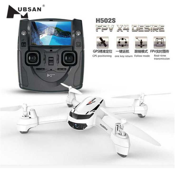 Hubsan H502S X4 FPV Quadcopter GPS with 720P HD Camera Drone RC Helicopter Aircraft One Key Return Headless Follow Me Mode