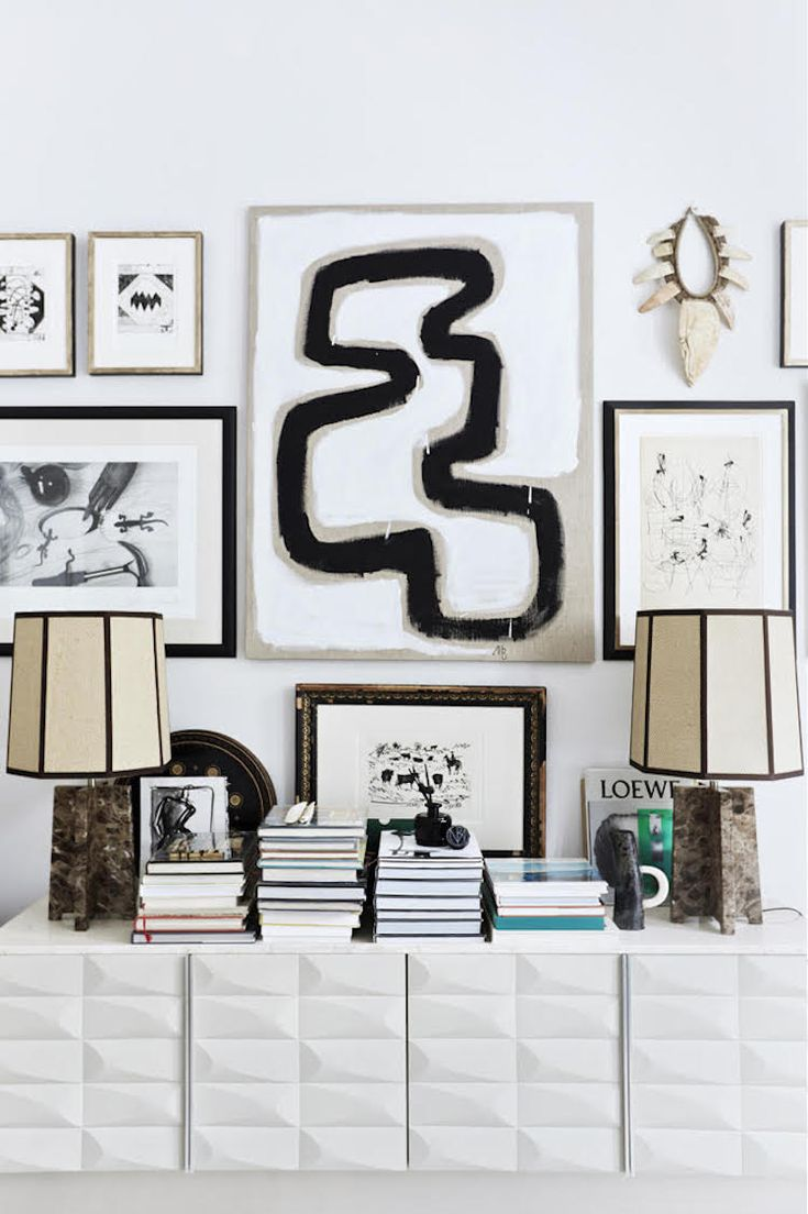 my scandinavian home: The striking, eclectic home of Malene Birger