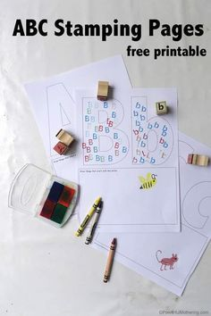 free printable abc worksheets for preschoolers that focus on letter case matching and encourage drawing of items that start with the letter featured!