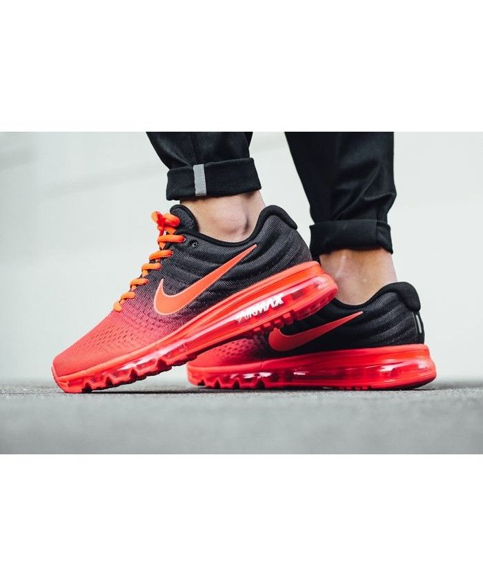 NIKE AIR MAX 2017 Bright Crimson Black Total Crimson | Nike