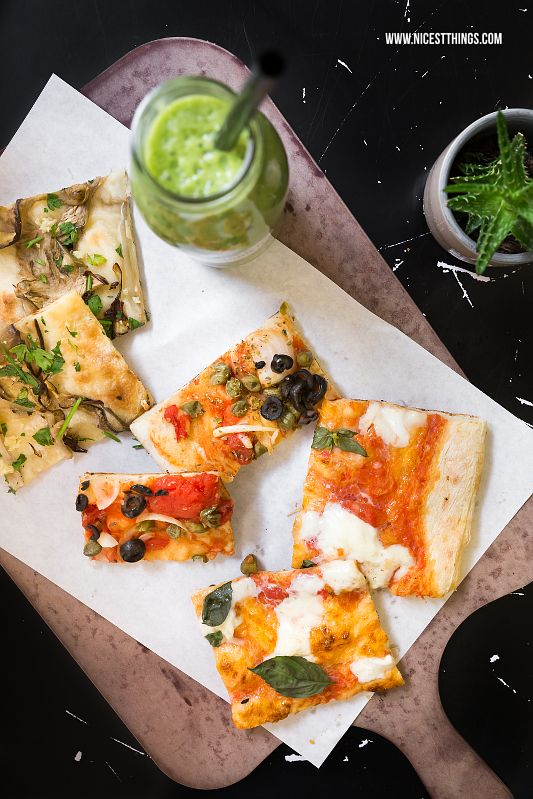 Tipps für gute Pizza und vegane Suppe in Heidelberg: die Restaurants Franz Soupmarine und Unter Freunden