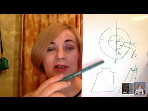 Нарядное платье от Алены Селезневой - YouTube