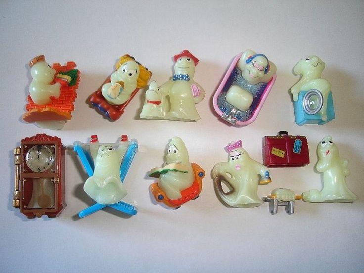 Halloween Fantasmini Glowing Ghosts 1 Kinder Surprise Figures Set Collectibles | eBay