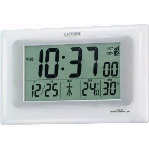 The Watch Shop - CITIZEN (シチズン) 掛時計 置時計 パルデジットR066 電波時計 温度表示 湿度表示 8RZ066-003 | 最新の時間センター