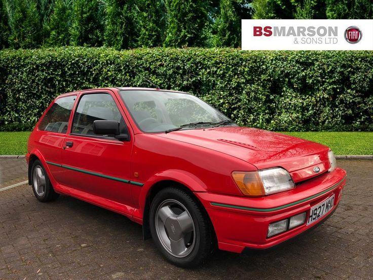 1991 ford fiesta rs turbo petrol red manual