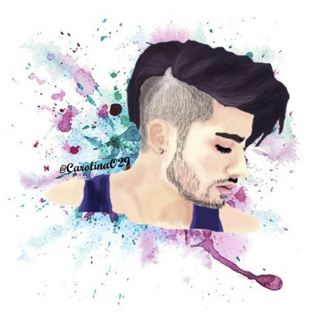 Digital Drawing of Zayn Malik