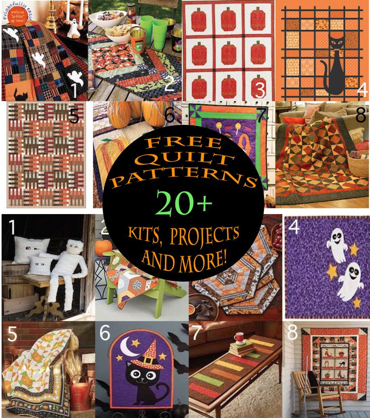 The 25+ best Halloween quilt kits ideas on Pinterest | Halloween ... : halloween quilt kits - Adamdwight.com