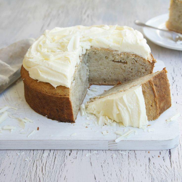 White Chocolate and Banana Mud Cake by risk-ash