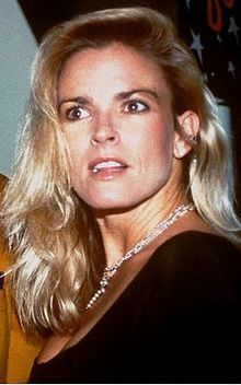 Nicole Brown Simpson (May 19, 1959 – June 12, 1994) was the ex-wife of professional football player O. J. Simpson. She was killed at her home in Brentwood, Los Angeles, California, along with her friend, restaurant waiter Ronald Goldman.