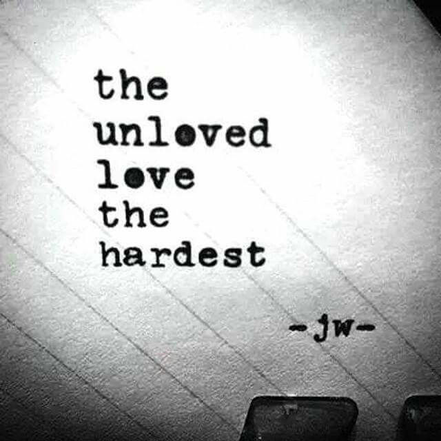 The unloved..