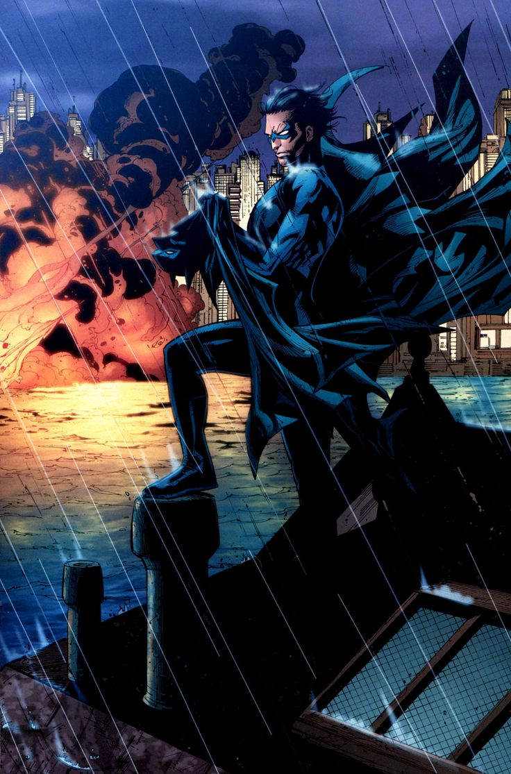 Batman | Nightwing sostiene la capa de su antiguo mentor, ¿el fin de Batman?                                                                                                                                                                                 Más