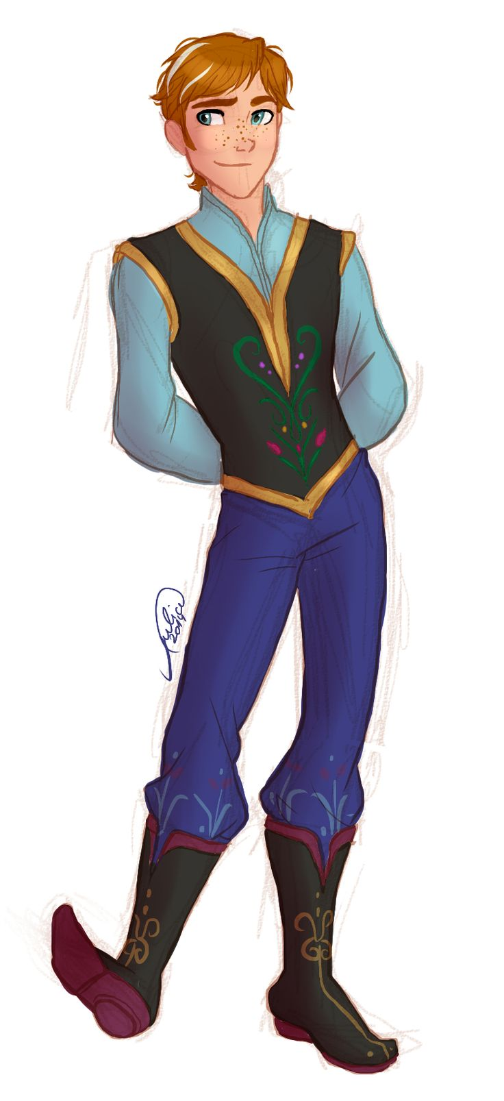 Perfect Genderbent Frozen characters! (click through to see the rest)