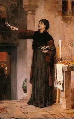 Nikiforos Lytras, Greek painter 1832-1904: Flowers of the Epitaph Νικηφόρος Λύτρας (1832-1904)- Άνθη Επιταφίου