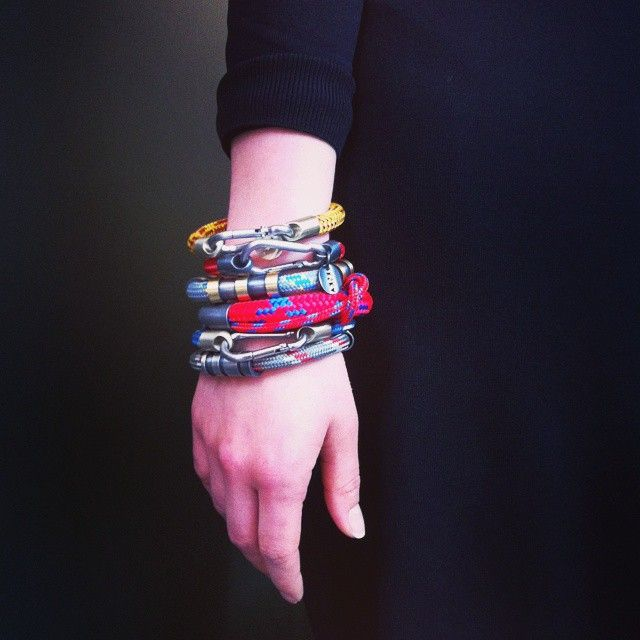 Bracelets from Extreme Sport collection by Anna Orska.