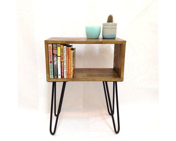 Hairpin Legs Table Mid Century Modern Tables door VintageHouseCoruna